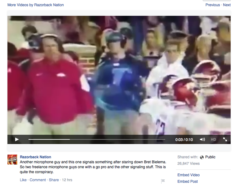 What I learned watching Alabama vs Arkansas