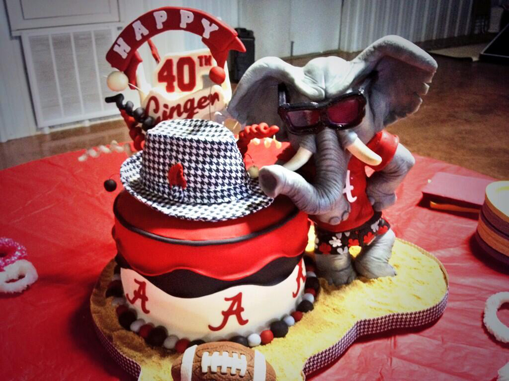 Alabama Crimson TideThemed Birthday Cake Is Gumptastic