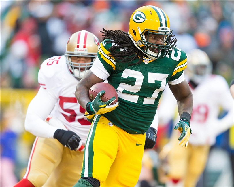Eddie Lacy Wins Ap Nfl Offensive Rookie Of The Year