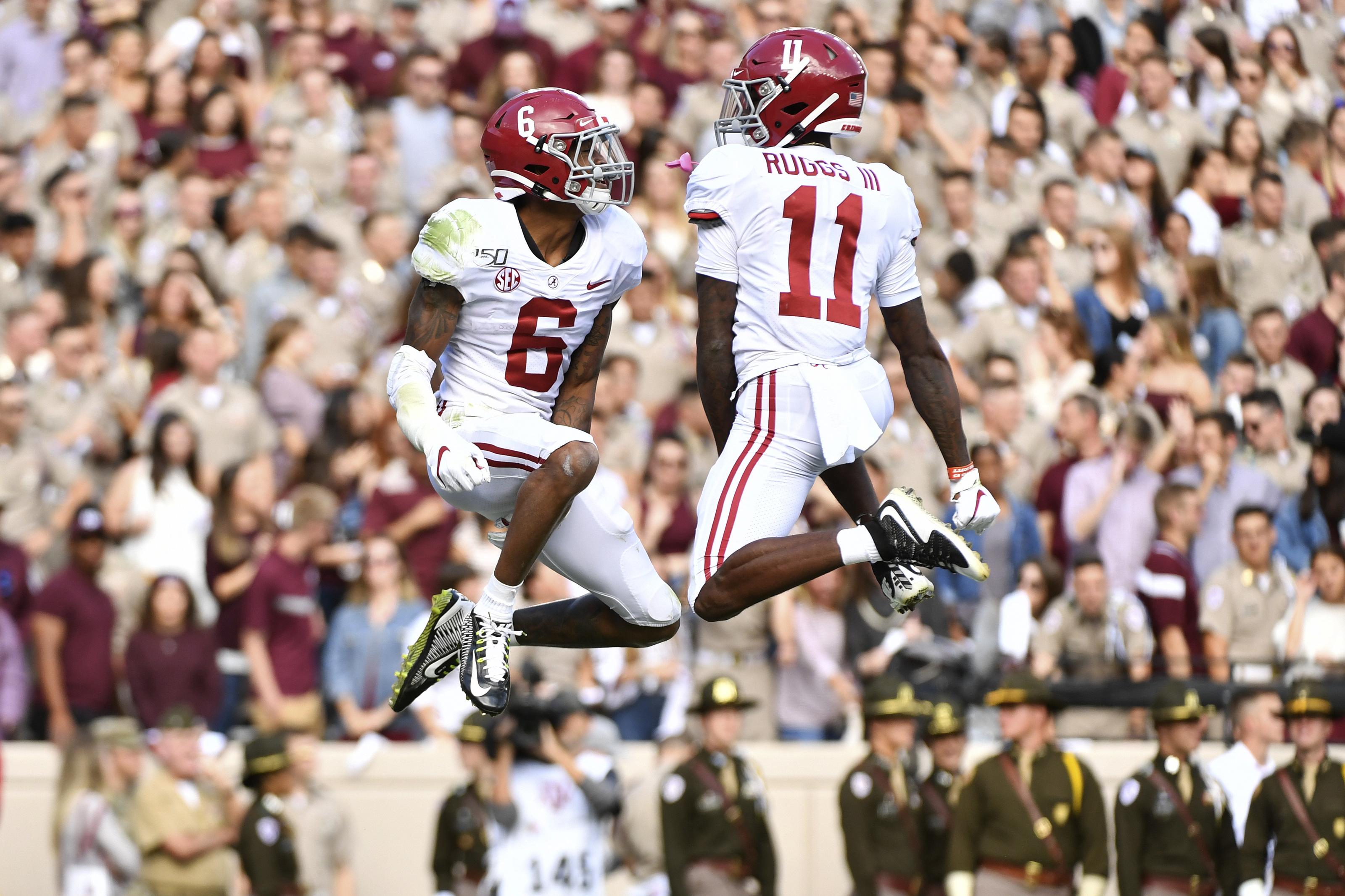 Alabama Football: Henry Ruggs III scorches NFL Combine