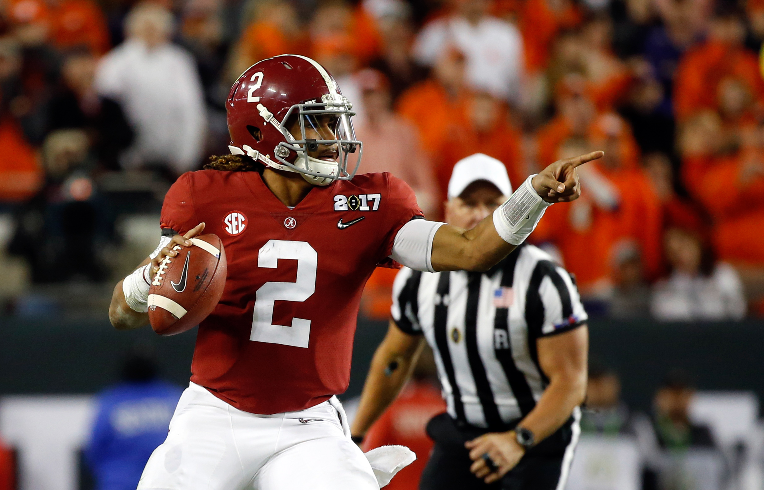 Alabama Football Jalen Hurts >> Alabama football fans are hoping for 'Run-Daboll.' It may be 'Air-Daboll'. Let's look at stats ...